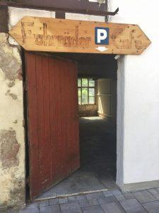 Fahrrad Parkplatz Knusperbohne